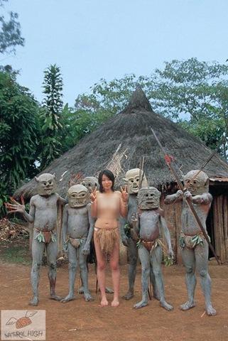 Порно фото диких племен